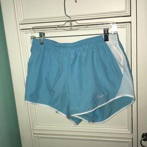 Light Blue Nike Running Shorts